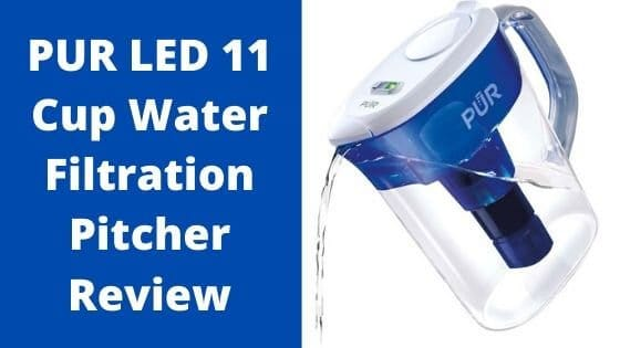 PUR Water filter Pitcher Review